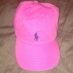 Polo Classic Cotton Chino pink hat